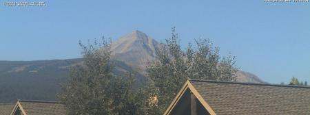 Check on the snow level for Lone Peak in Big Sky Montana ~ Courtsey of Meng Denstiry